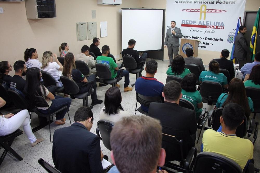 Rede Aleluia chega à Penitenciária Federal de Segurança Máxima de Rondônia2 min read
