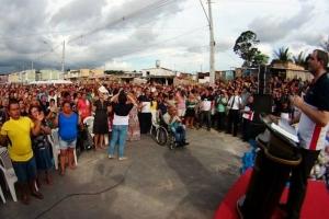 Amazonas: concentração reúne multidão no terreno da futura Universal em Manaus1 min read