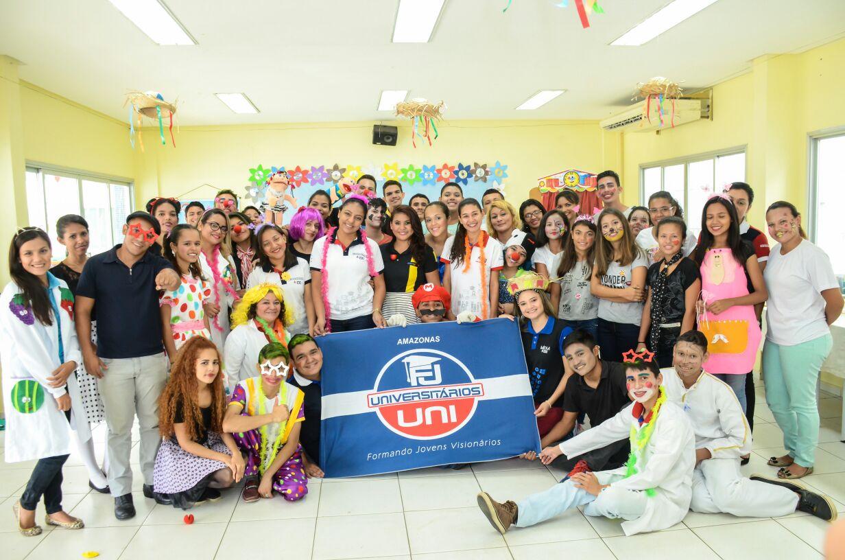 Projeto Universitários leva alegria às crianças hospitalizadas em Manaus3 min read