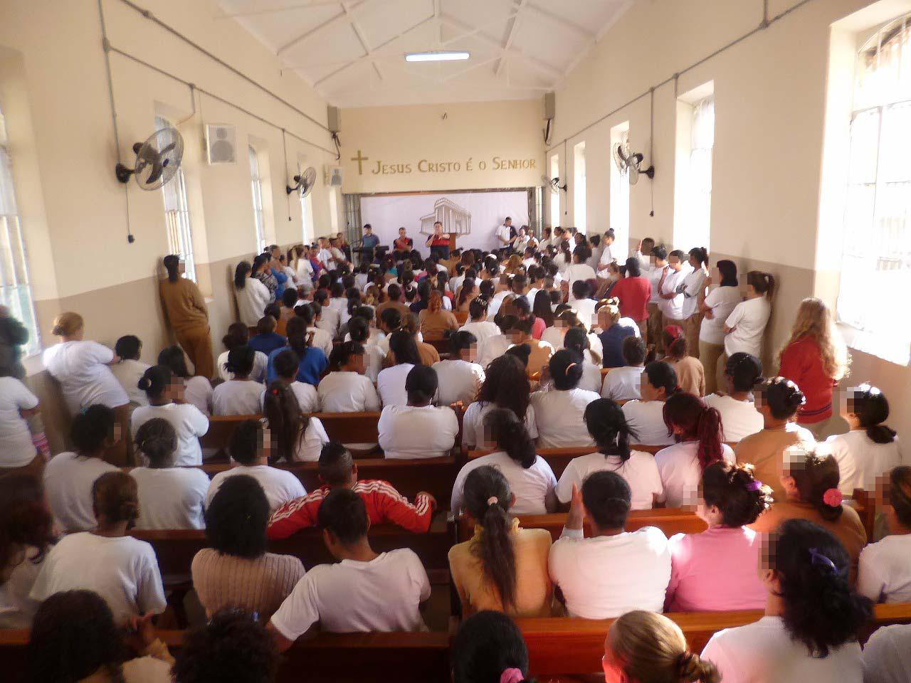 UNP inaugura terceira Igreja em penitenciária feminina de São Paulo1 min read