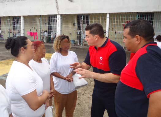 UNP realiza visita à Penitenciária Feminina de Campinas