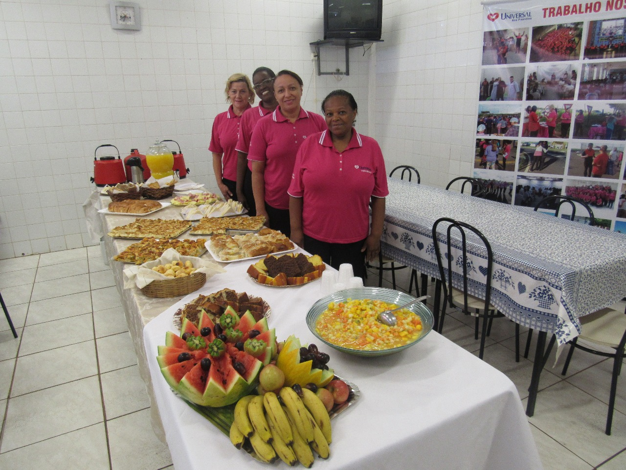 UNP promove café da manhã em presídio