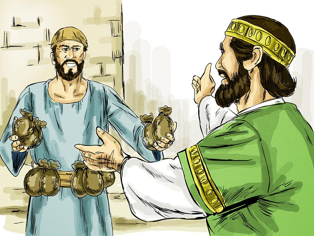 Os três servos da Parábola dos Talentos