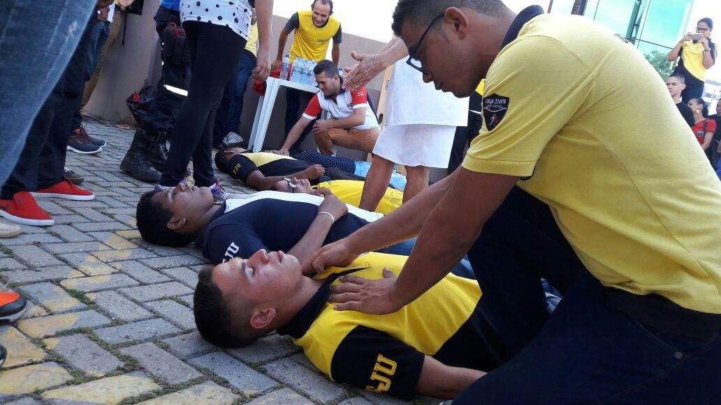 Força Jovem da Paraíba promove curso de primeiros socorros em João Pessoa