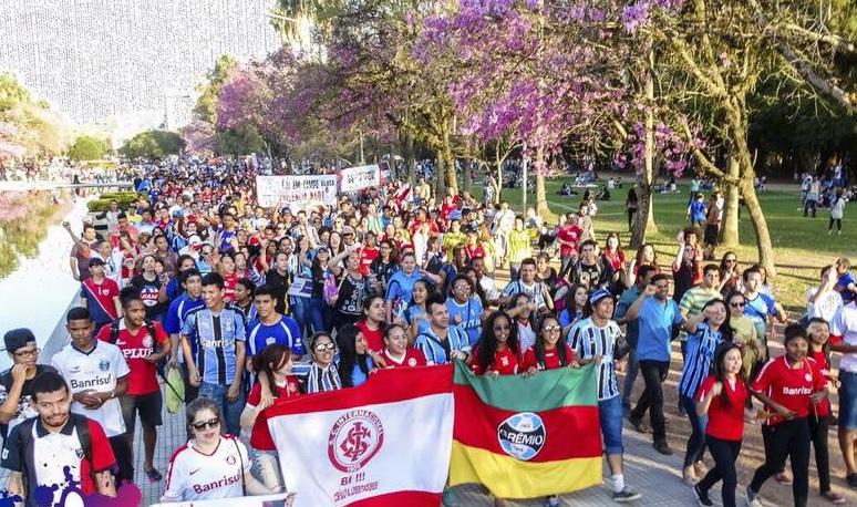 FJU realiza movimentos contra violência nos estádios de futebol