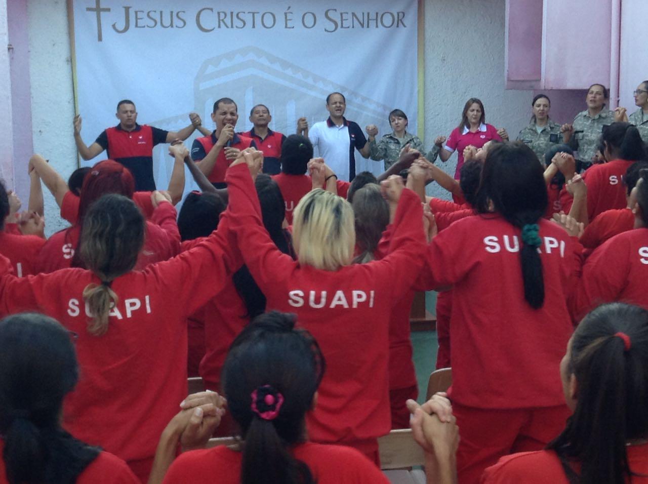 Universal nos Presídios inaugura mais Igrejas pelo Brasil