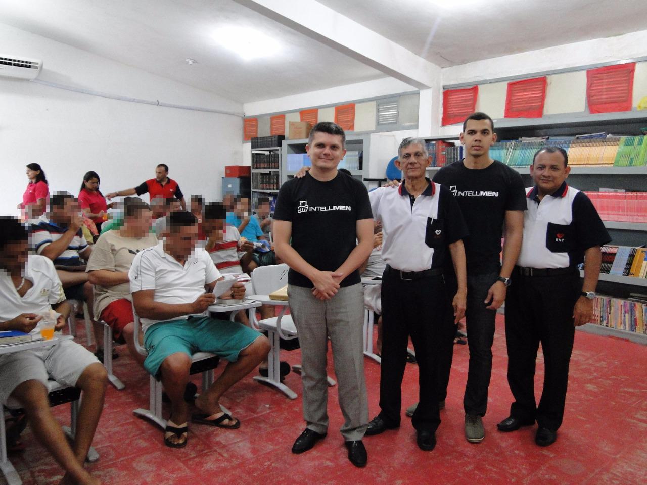 Projeto IntelliMen chega à presídio na Paraíba