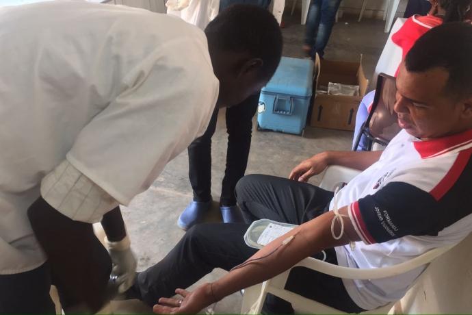 FJU do Bissau promove campanha de doação de sangue no país1 min read