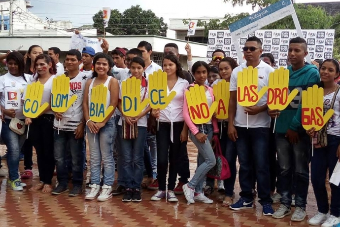 Colômbia diz não para as drogas2 min read