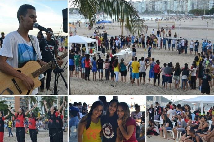 """FJU dá início aos """"Jogos de Praia"""" no Rio de Janeiro2 min read"""