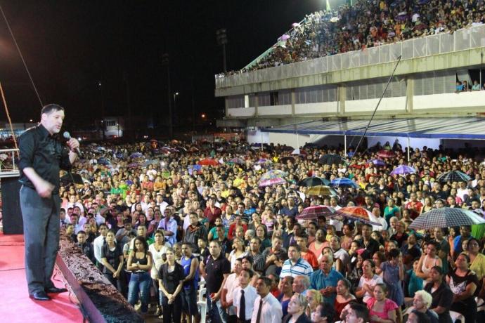 Mesmo com chuva, concentração de fé reúne 30 mil pessoas no Amapá1 min read