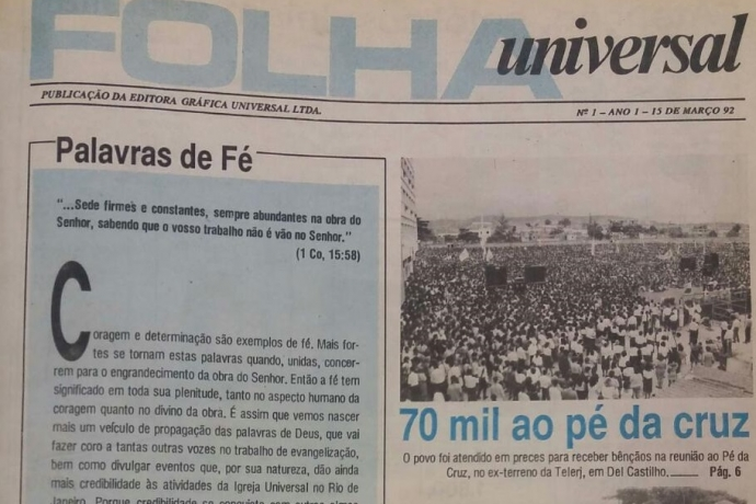 A missão da Folha Universal7 min read