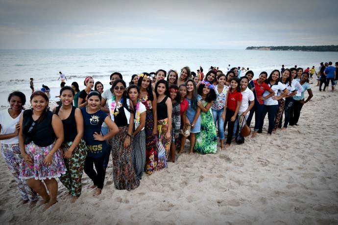 FJU da Paraíba realiza luau na praia do Cabo Branco, em João Pessoa2 min read
