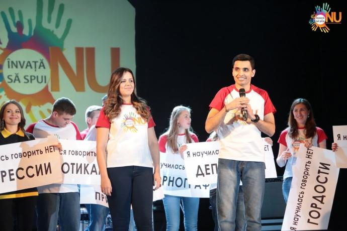 """""""Saiba Dizer Não"""" reúne centenas de jovens na Moldávia3 min read"""