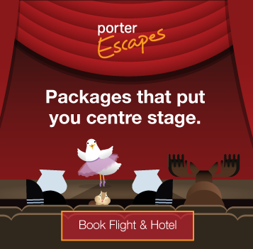 Packages that put you centre stage. Book Flight and Hotel.