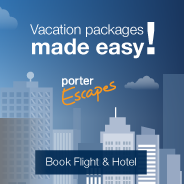 Vacation packages made easy! Porter Escapes. Book Flight & Hotel.