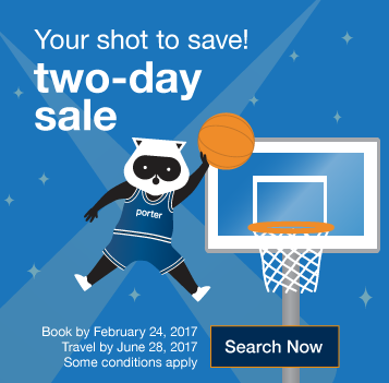 Two-day sale. Your shot to save! Book by Friday, February 24, 2017.  Travel by June 28, 2017. Search Now.