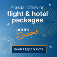 Special offers on flight & hotel packages. Porter Escapes. Book flight & hotel.