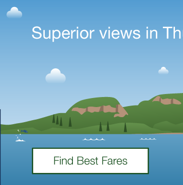 Superior views in Thunder Bay. Find Best Fares.