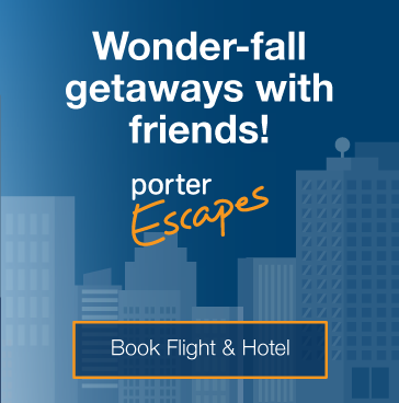 Wonder-fall getaways with friends! Book flight and hotel.