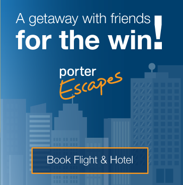 A getaway with friends for the win! Book flight & hotel.