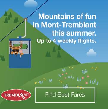 Mountains of fun in Mont-Tremblant. Find Best Fares.
