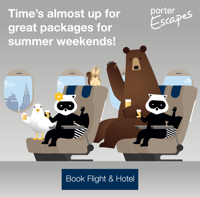 Time s almost up for great packages for summer weekends! Book flight and hotel.