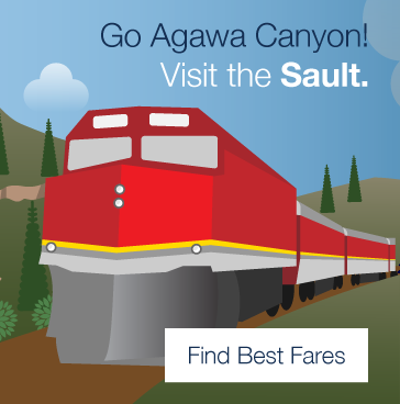 Go Agawa Canyon! Visit Sault Ste. Marie. Find Best Fares.