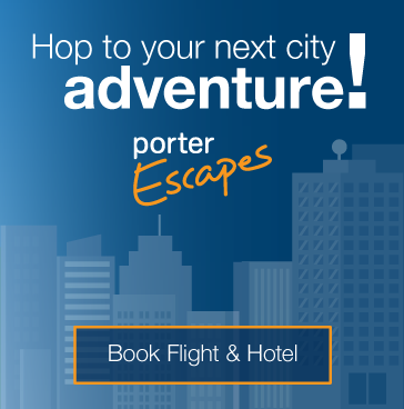 Hop to your next city adventure! Book flight and hotel.