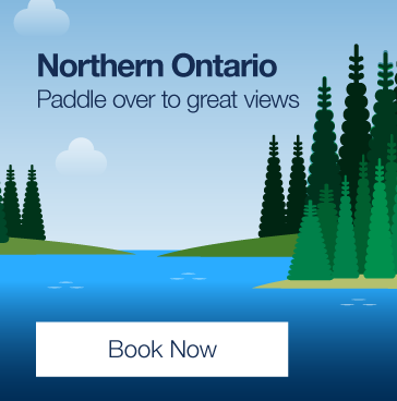 Northern Ontario. Paddle over to great views. Find Best Fares.