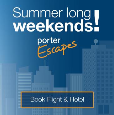 Summer long weekend! Book flight and hotel.