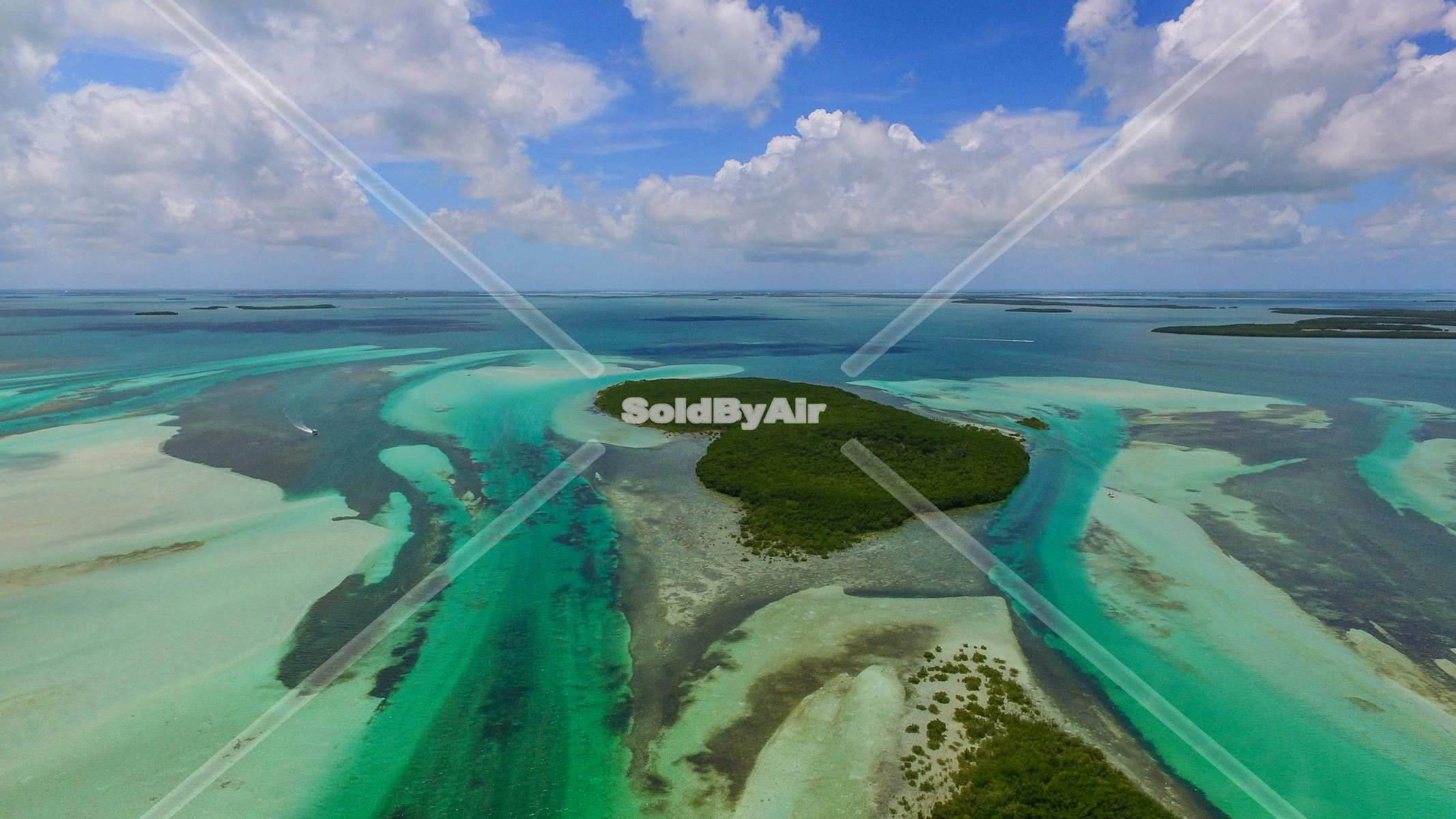 Drone Photo of Aerial photo taken north west of Key West in Key West Florida