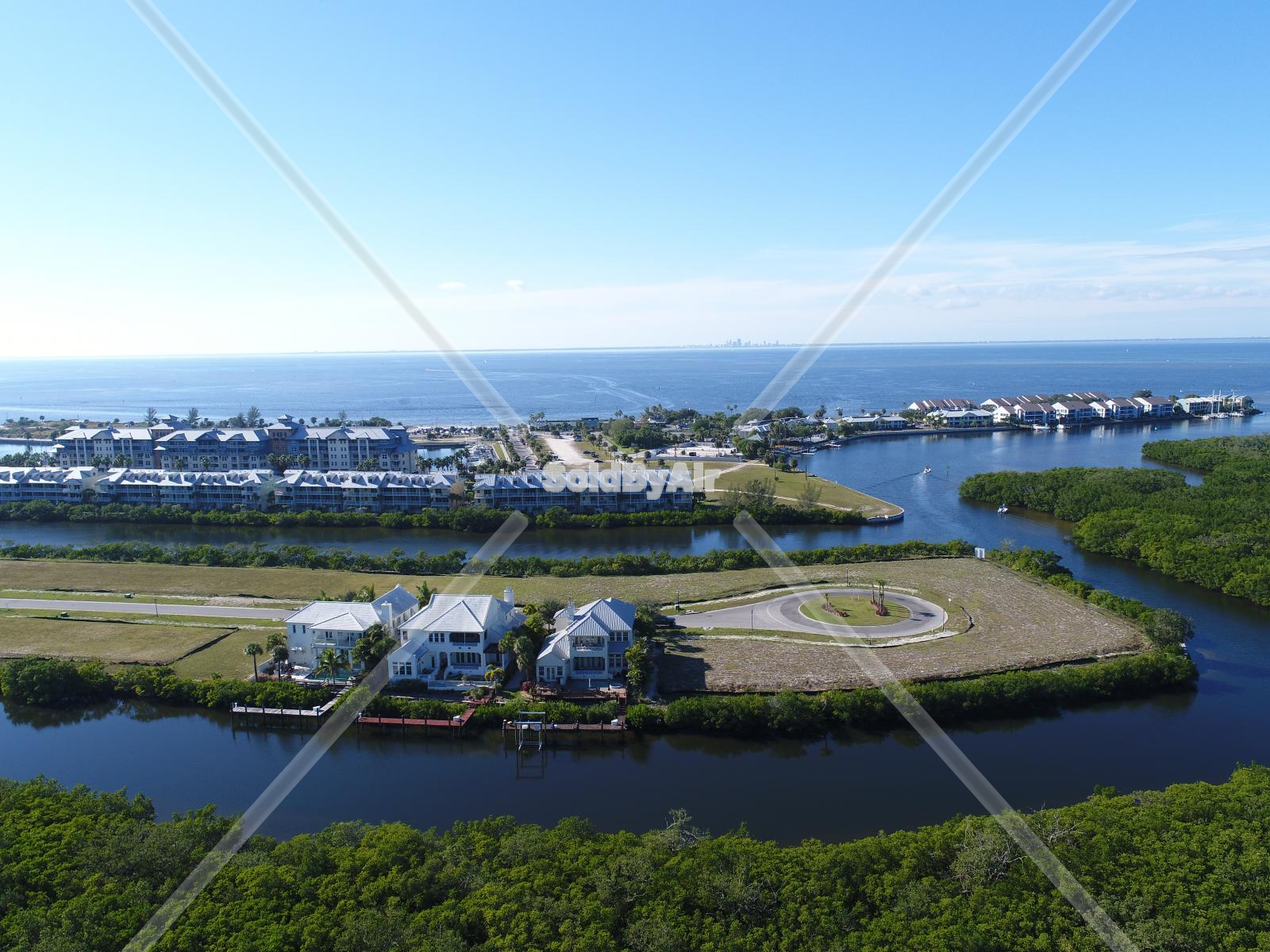 Drone Photo of Little Harbor  in Ruskin Florida