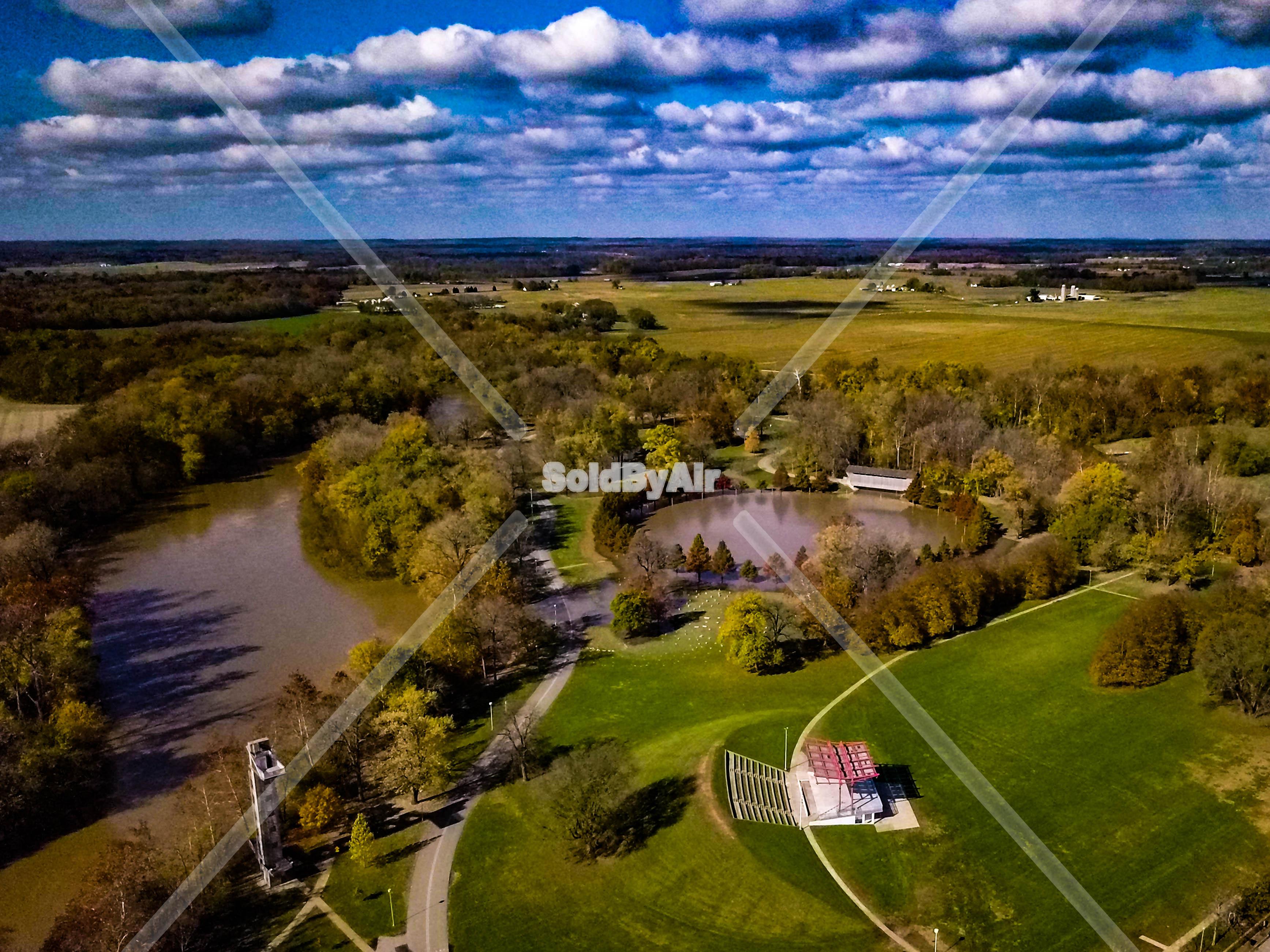 Drone Photo Columbus IN