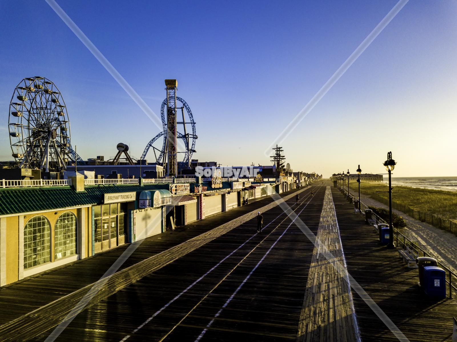 Drone Photo Ocean City NJ