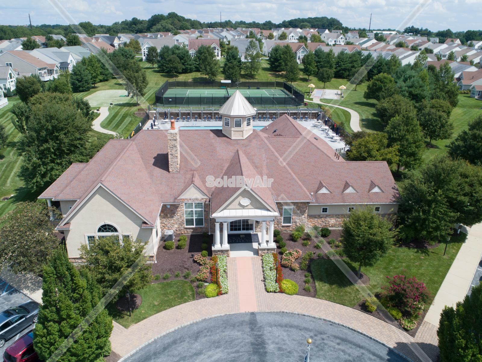 Drone Photo of Ovations at Elk View in West Grove Pennsylvania