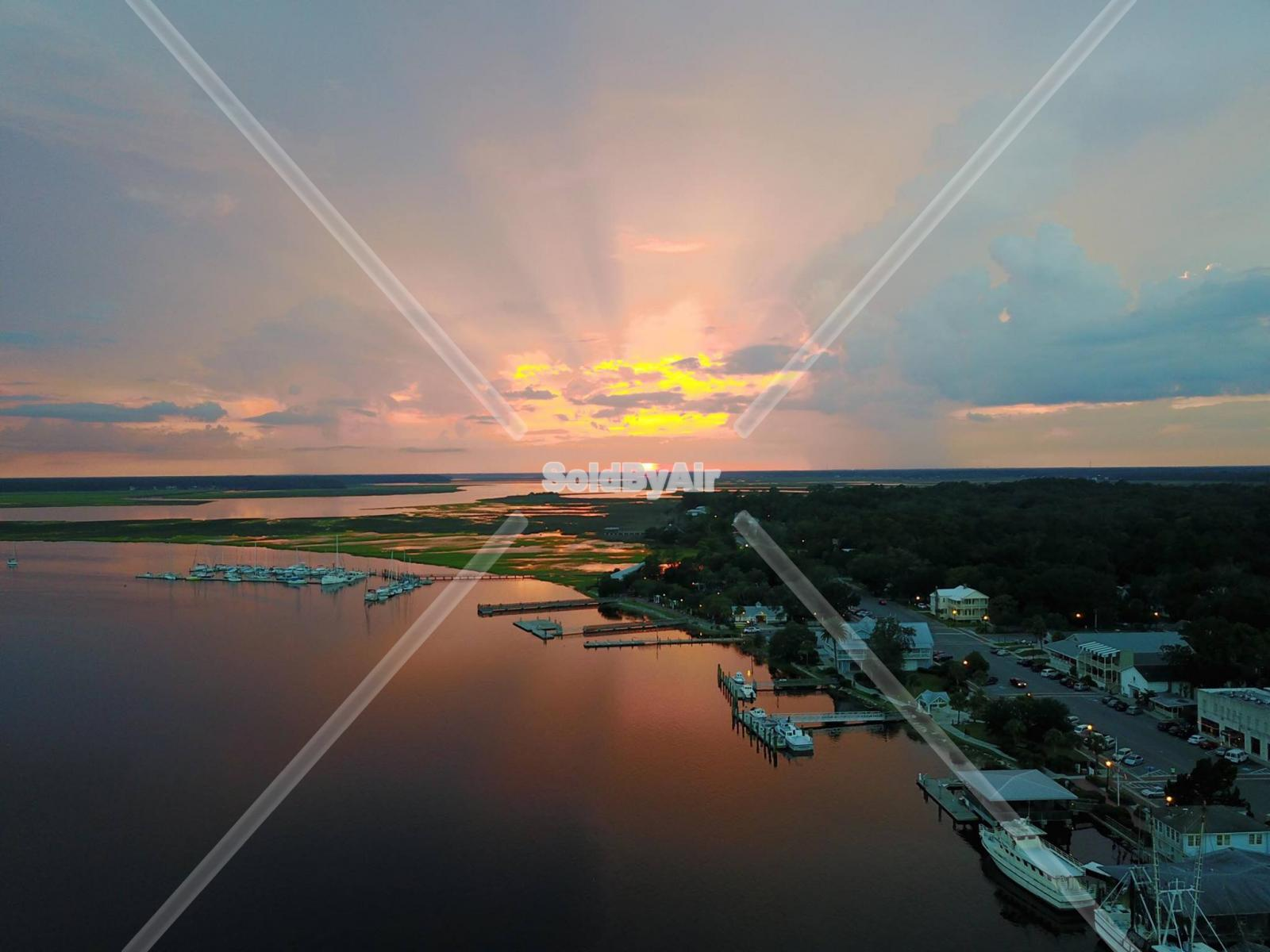 Drone Photo of  in St Marys Georgia