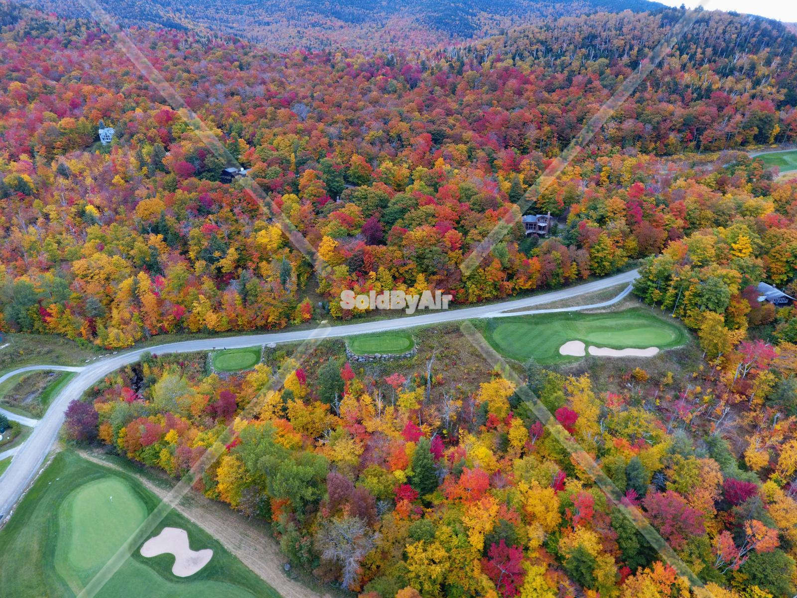 Drone Photo Stowe VT