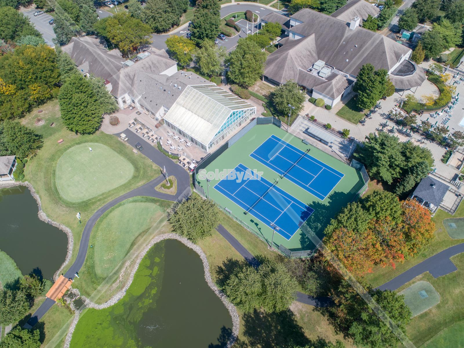 Drone Photo of The Fairways at Lakewood Amenities in Lakewood Township New Jersey