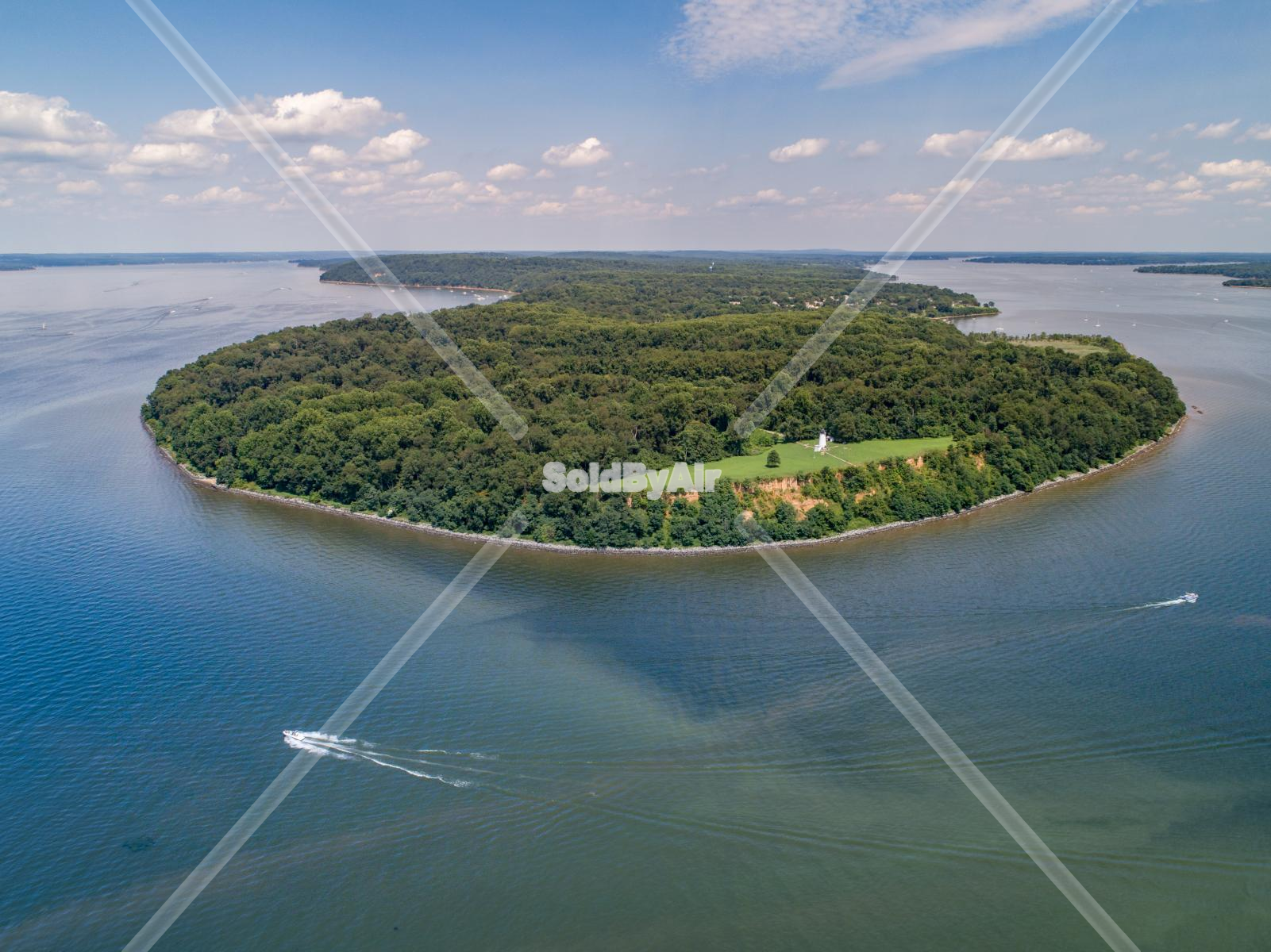 Drone Photo of Turkey Point in North East Maryland