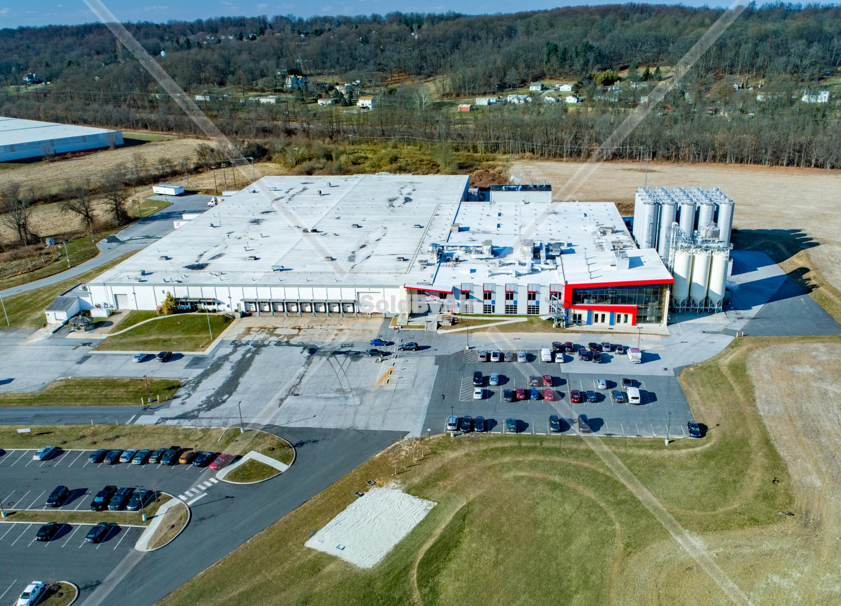 Drone Photo of Victory Brewing Company in Parkesburg Pennsylvania