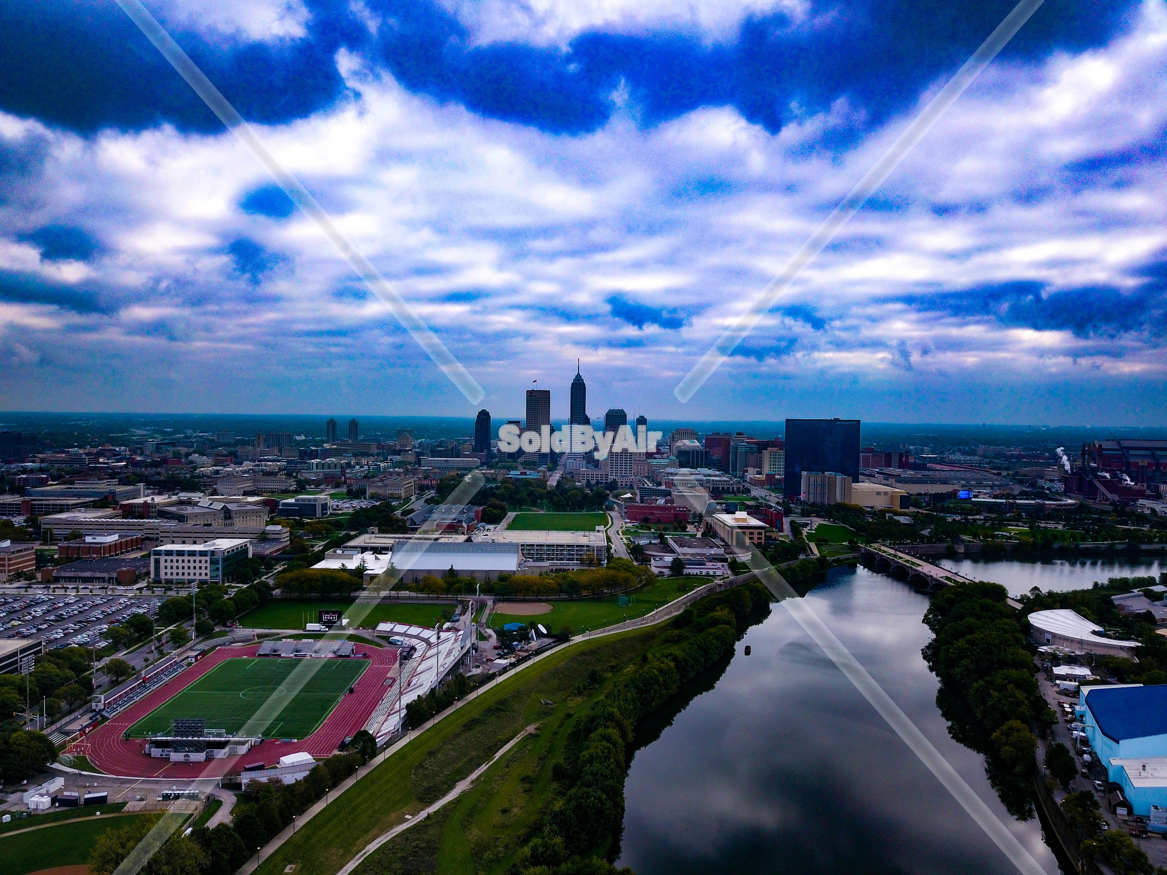 Drone Photo Indianapolis IN