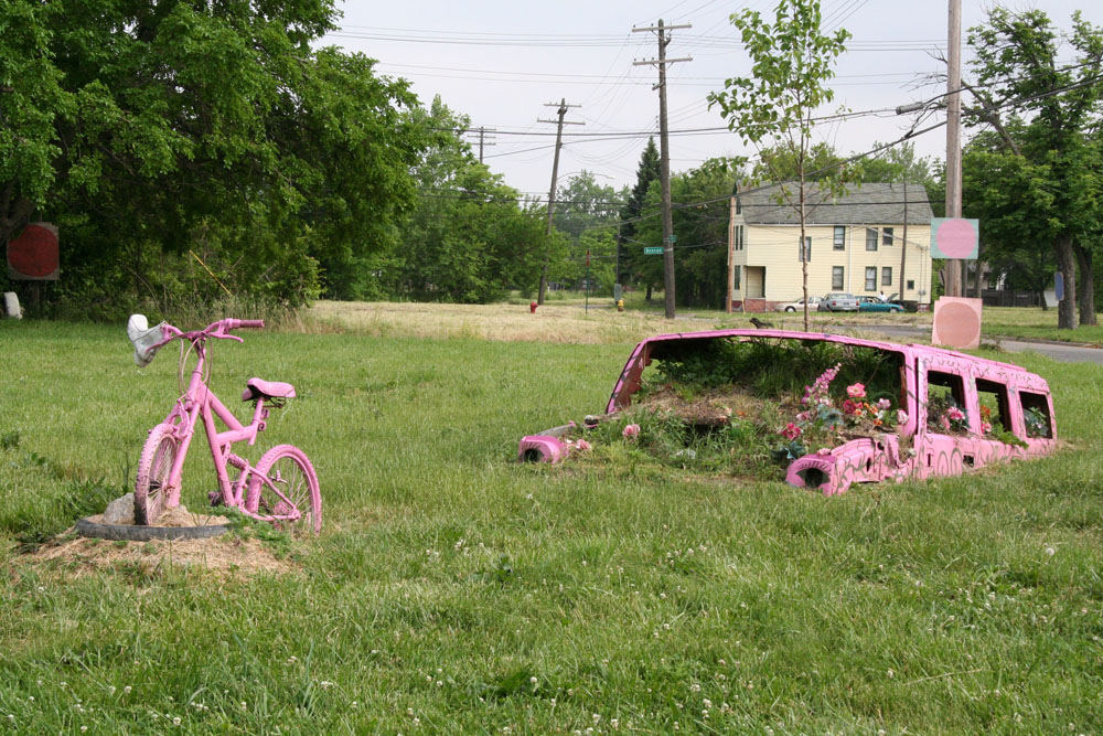 A piece of The Heidelberg Project