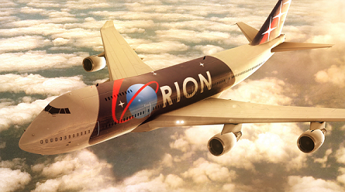 ORION Luxury Airlines ad