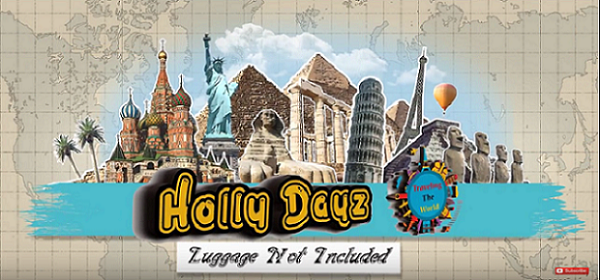 Holly Dayz Travel Vlog welcome video