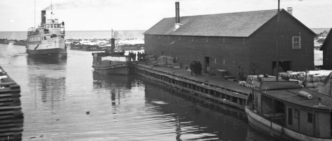 Booth FIsheries dock