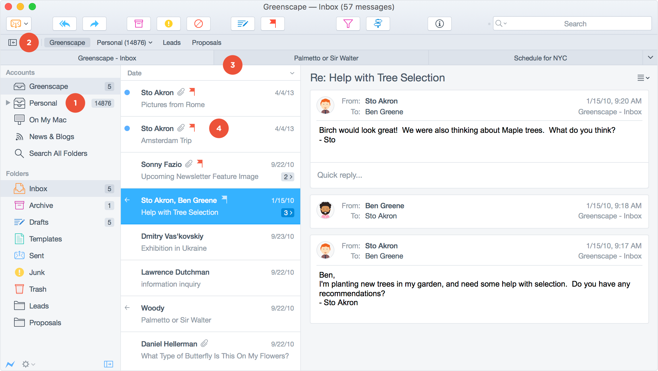 The power email app postbox stay on top of things hexwebz Gallery