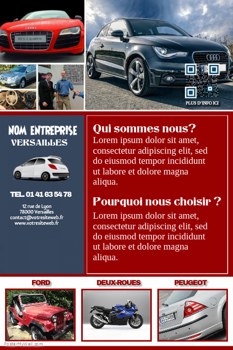 brochure garage automobile mod les d