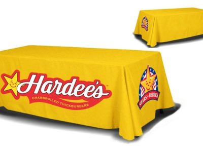 8ft Table Cover 4 sided (Close Back)