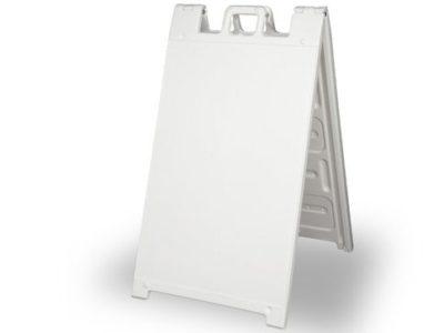 white-a-frame